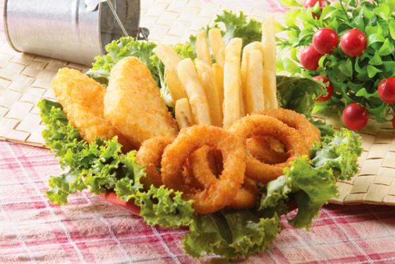 薯餅 洋蔥圈 美國脆薯