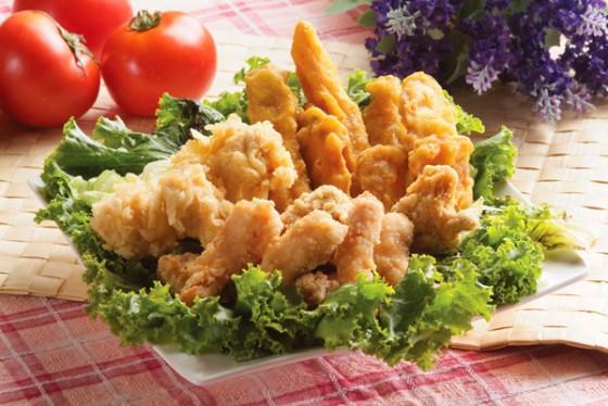 鹽酥雞 魷魚 雞米兒